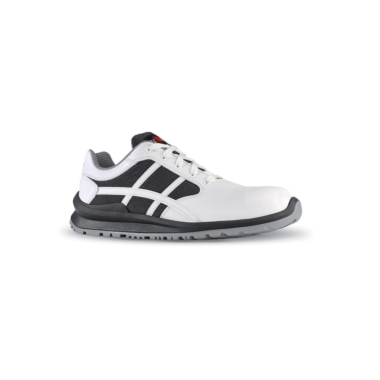 scarpa antinfortunistica upower modello mika linea flatout vista laterale