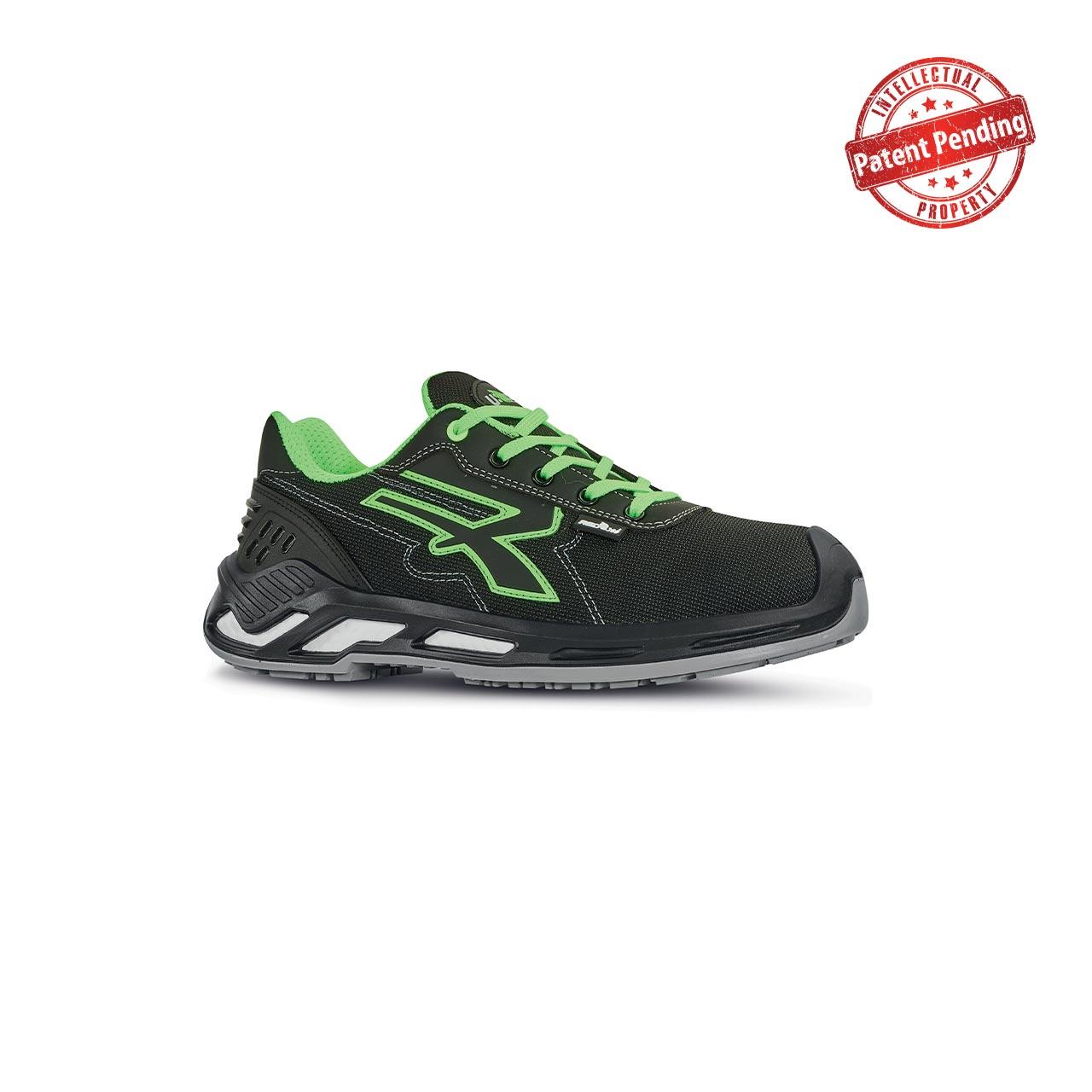scarpa antinfortunistica upower modello milo linea red360 vista laterale