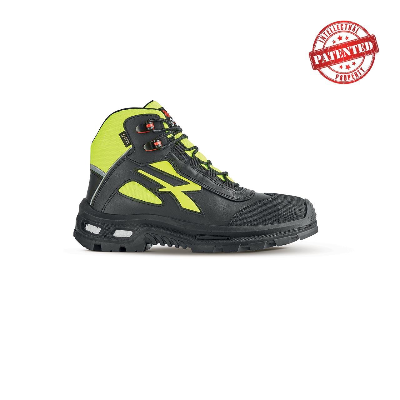 scarpa antinfortunistica upower modello mind linea redover vista laterale
