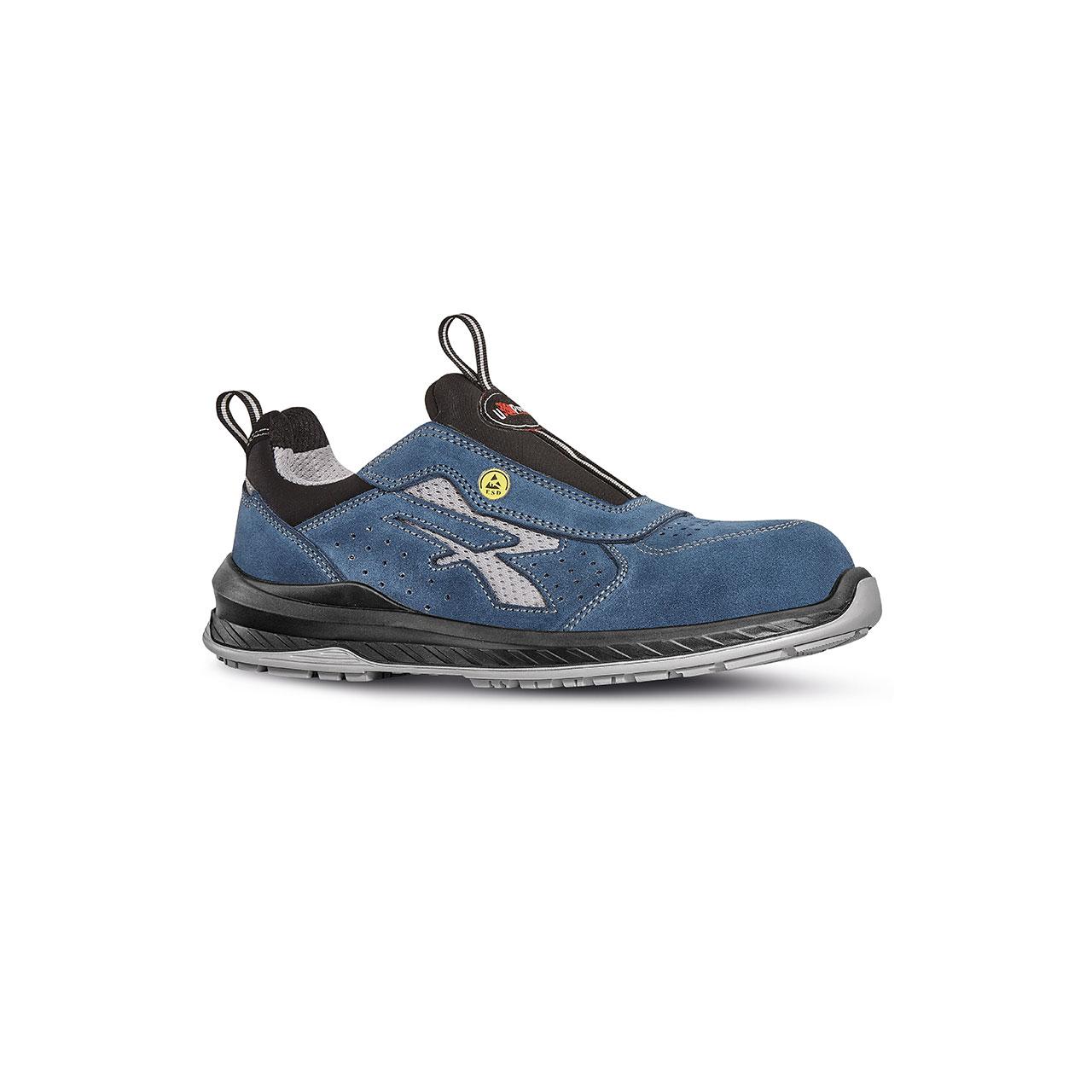 scarpa antinfortunistica upower modello mistral linea redindustry vista laterale