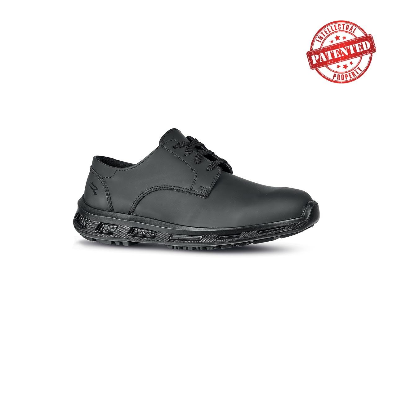 scarpa antinfortunistica upower modello morgan linea redlion vista laterale