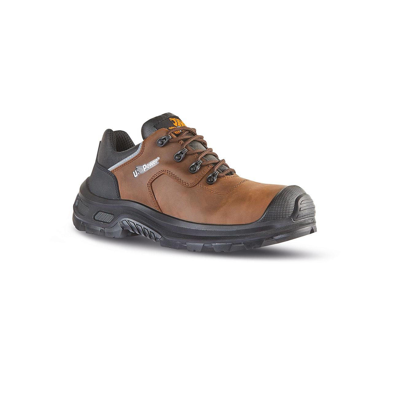 scarpa antinfortunistica upower modello moska linea redindustry vista laterale