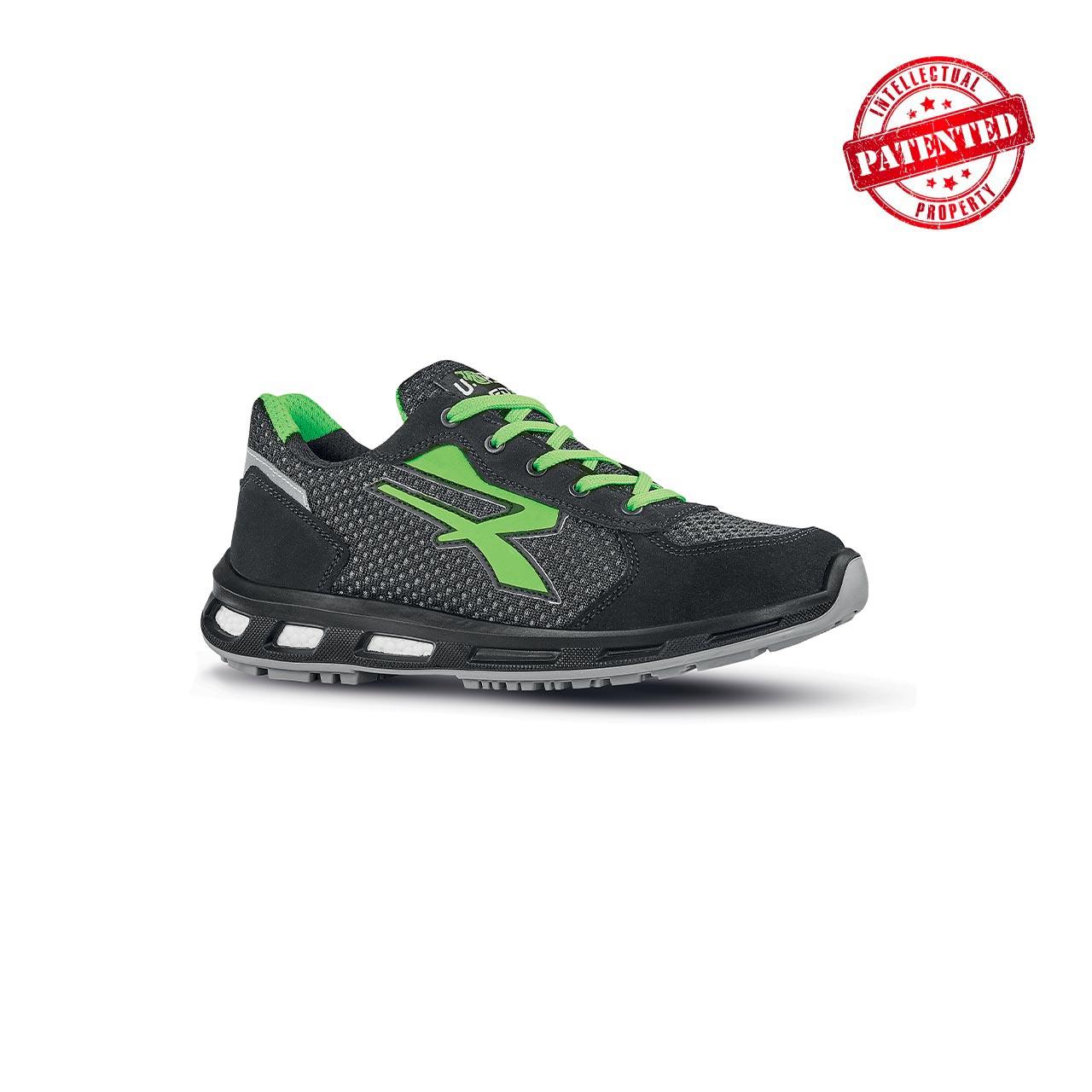 scarpa antinfortunistica upower modello nate linea redpro vista laterale