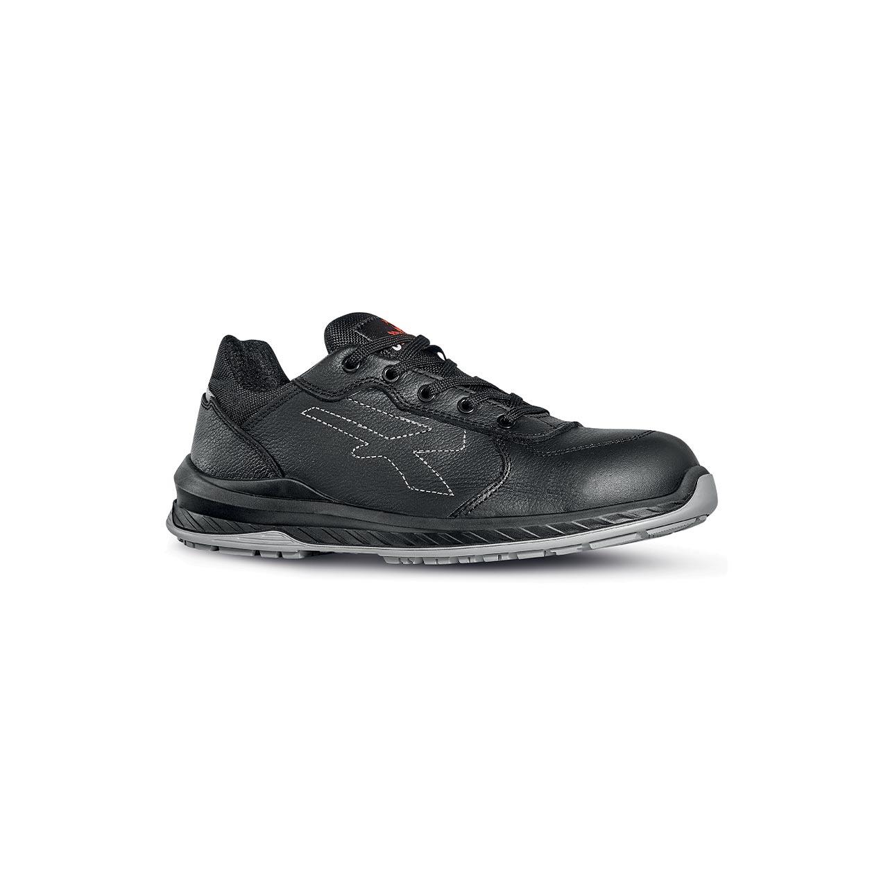 scarpa antinfortunistica upower modello nero linea redindustry vista laterale