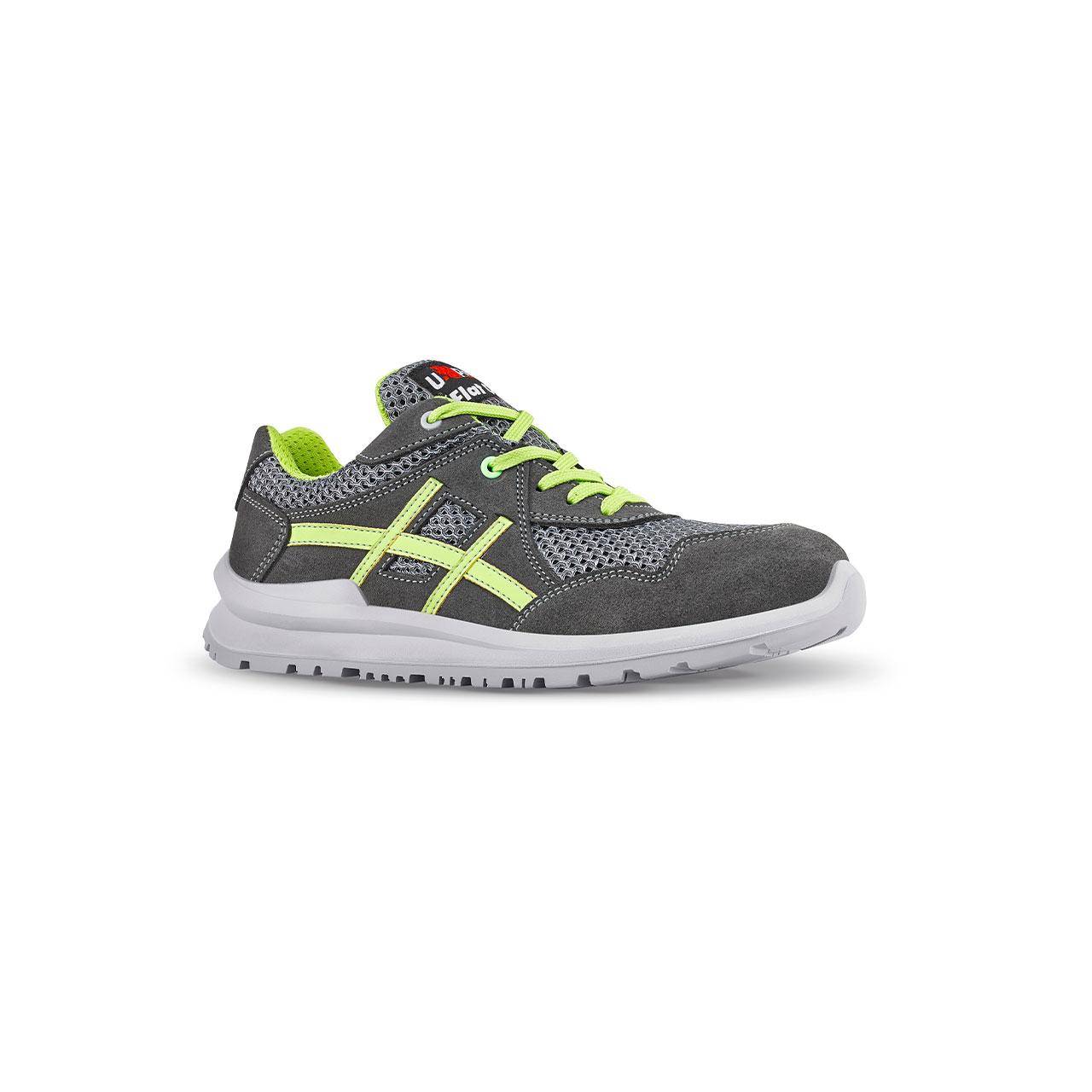 scarpa antinfortunistica upower modello nico linea flatout vista laterale