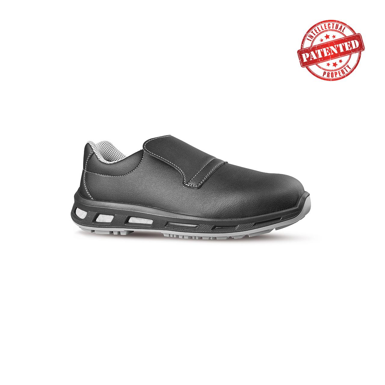 scarpa antinfortunistica upower modello noir linea redlion vista laterale