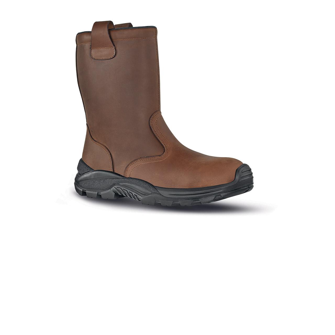 scarpa antinfortunistica upower modello nordicplus linea stepone vista laterale