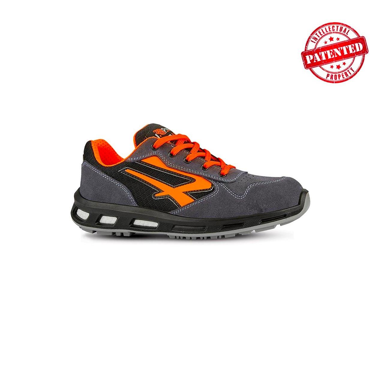 scarpa antinfortunistica upower modello orange linea redlion vista laterale