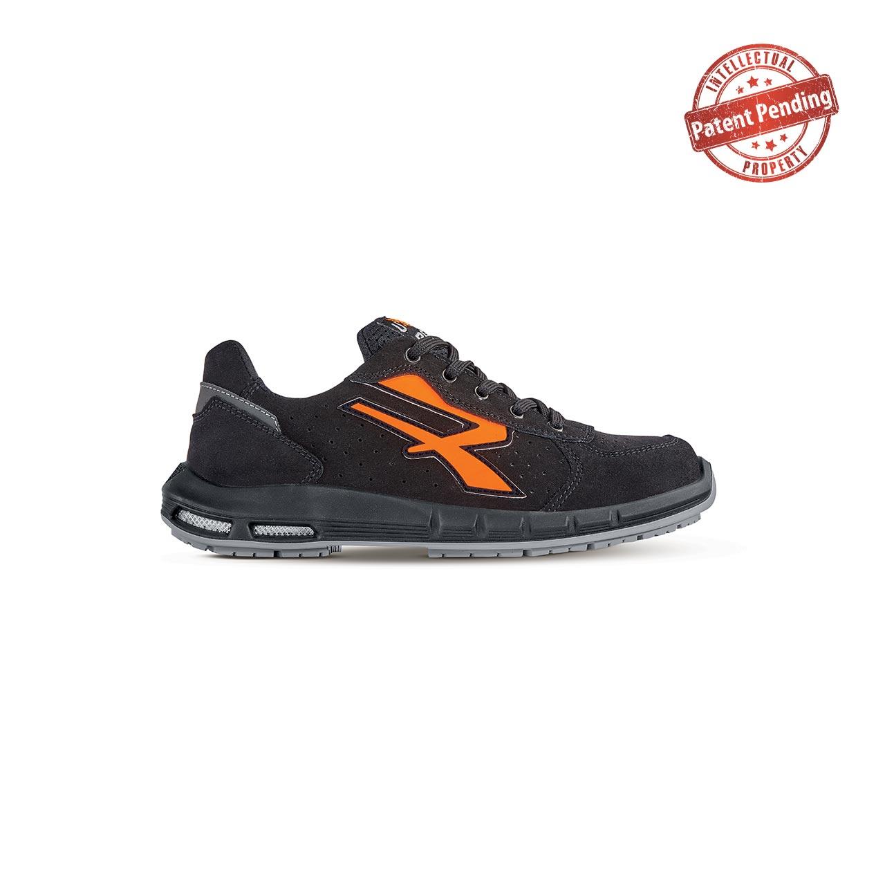 scarpa antinfortunistica upower modello orion plus linea redup plus vista laterale
