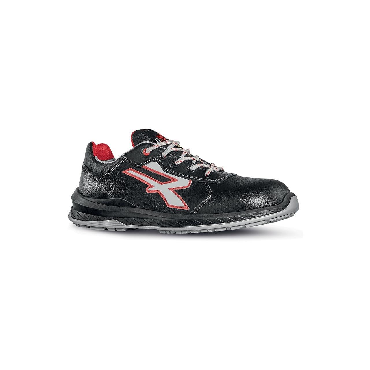 scarpa antinfortunistica upower modello parigi linea redindustry vista laterale