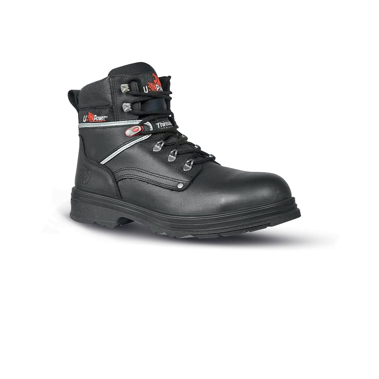 scarpa antinfortunistica upower modello performance linea conceptm vista laterale
