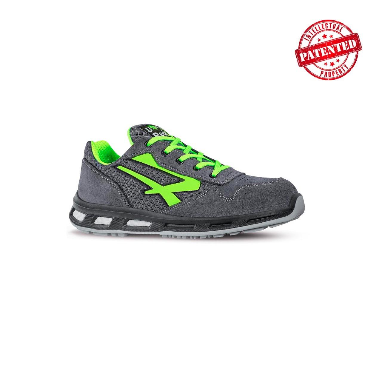 scarpa antinfortunistica upower modello point linea redlion vista laterale