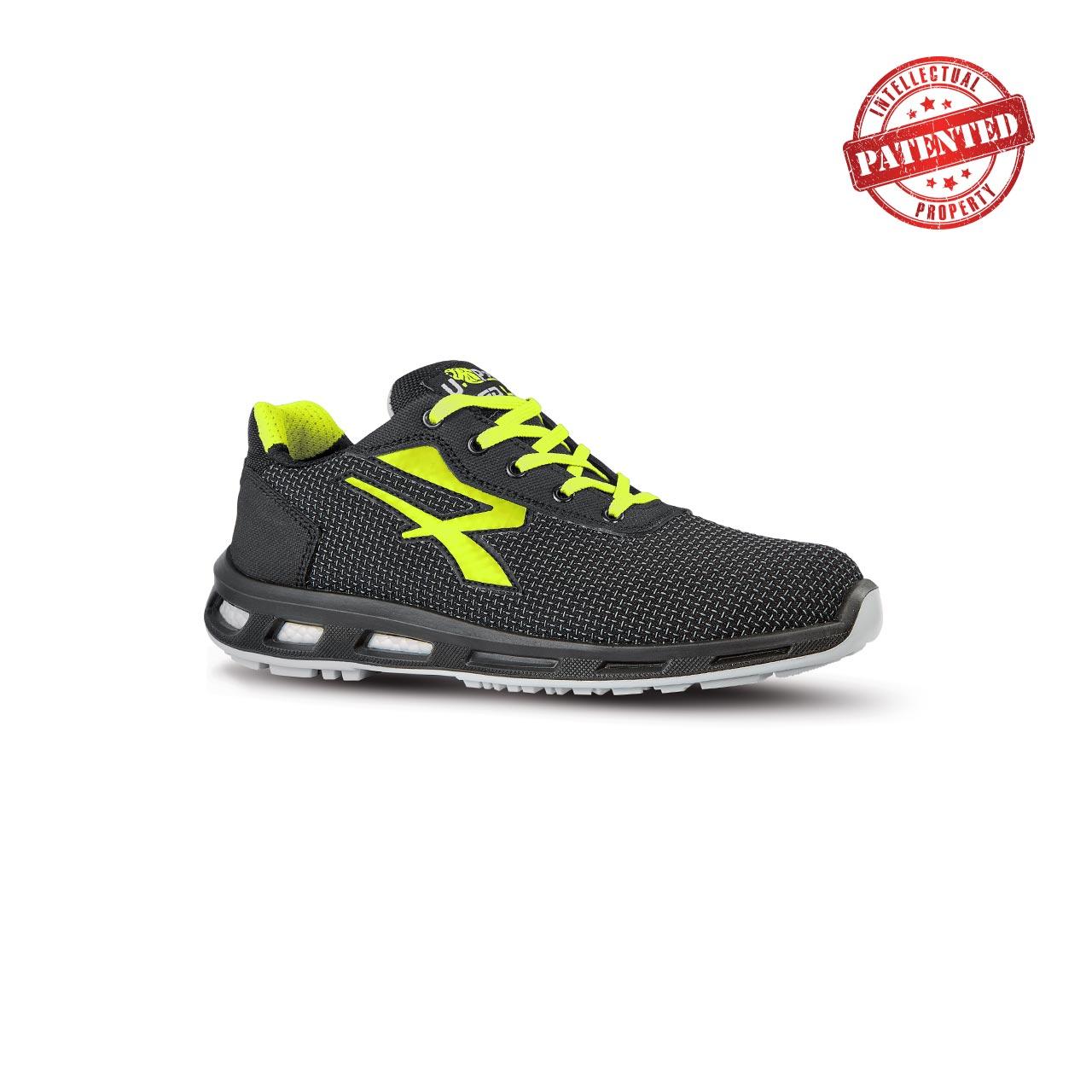 scarpa antinfortunistica upower modello prime linea redlion vista laterale