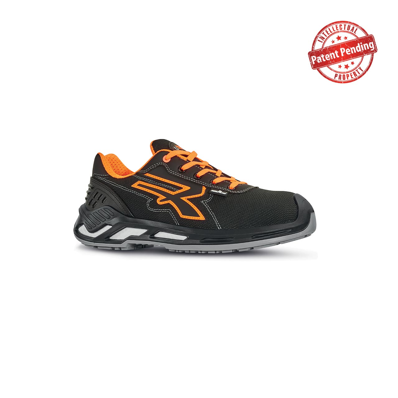 scarpa antinfortunistica upower modello project linea red360 vista laterale