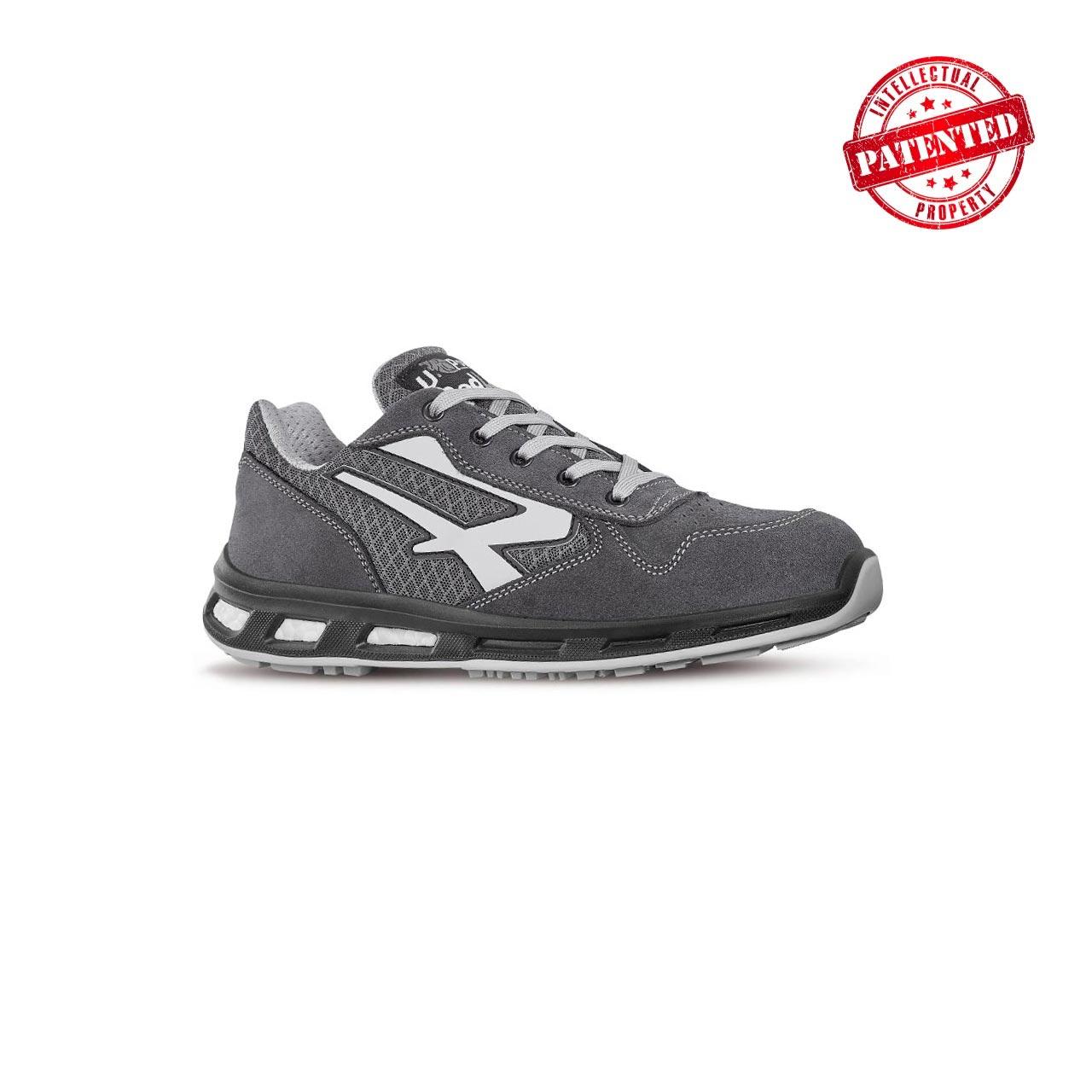 scarpa antinfortunistica upower modello push linea redlion vista laterale
