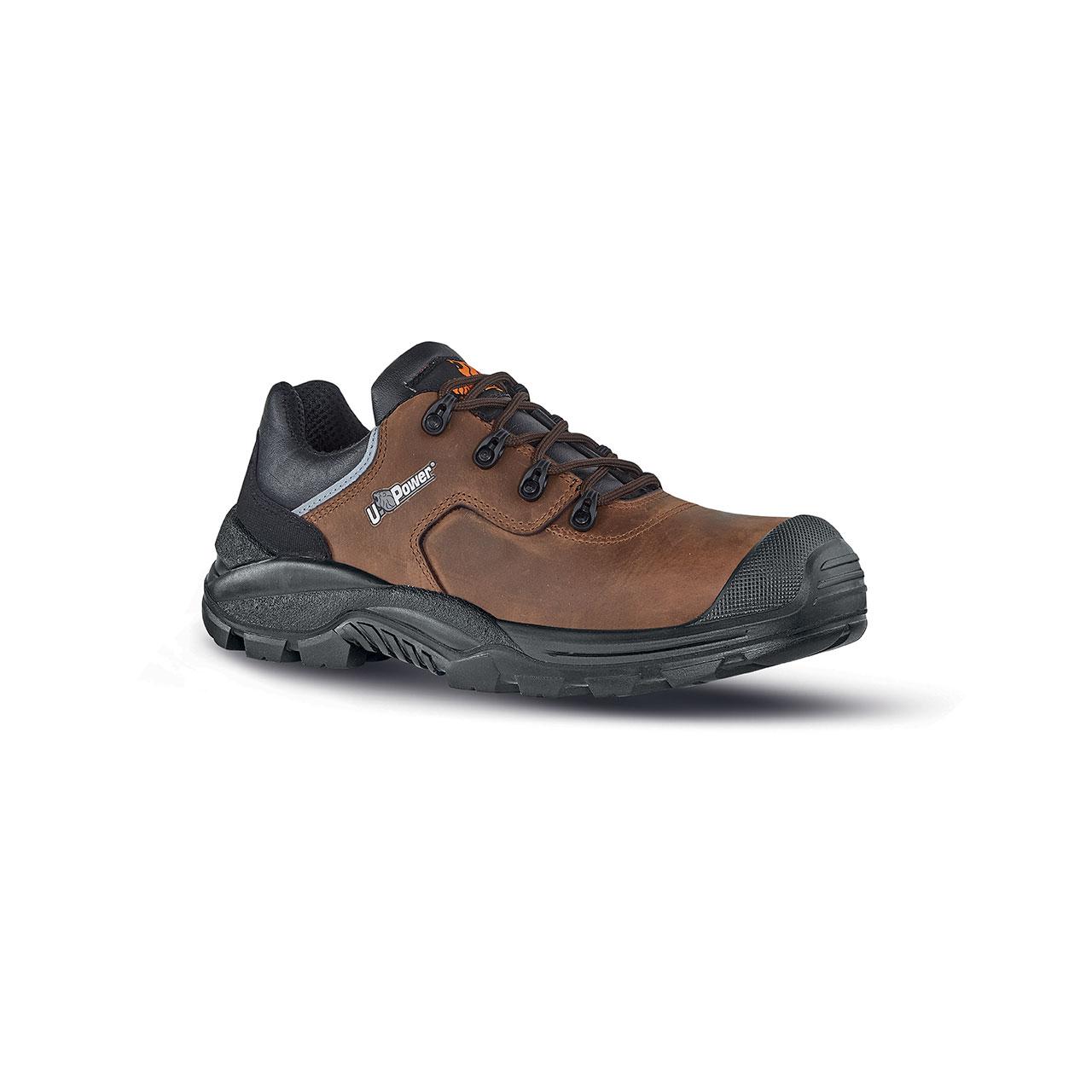 scarpa antinfortunistica upower modello quebec linea rock_roll vista laterale