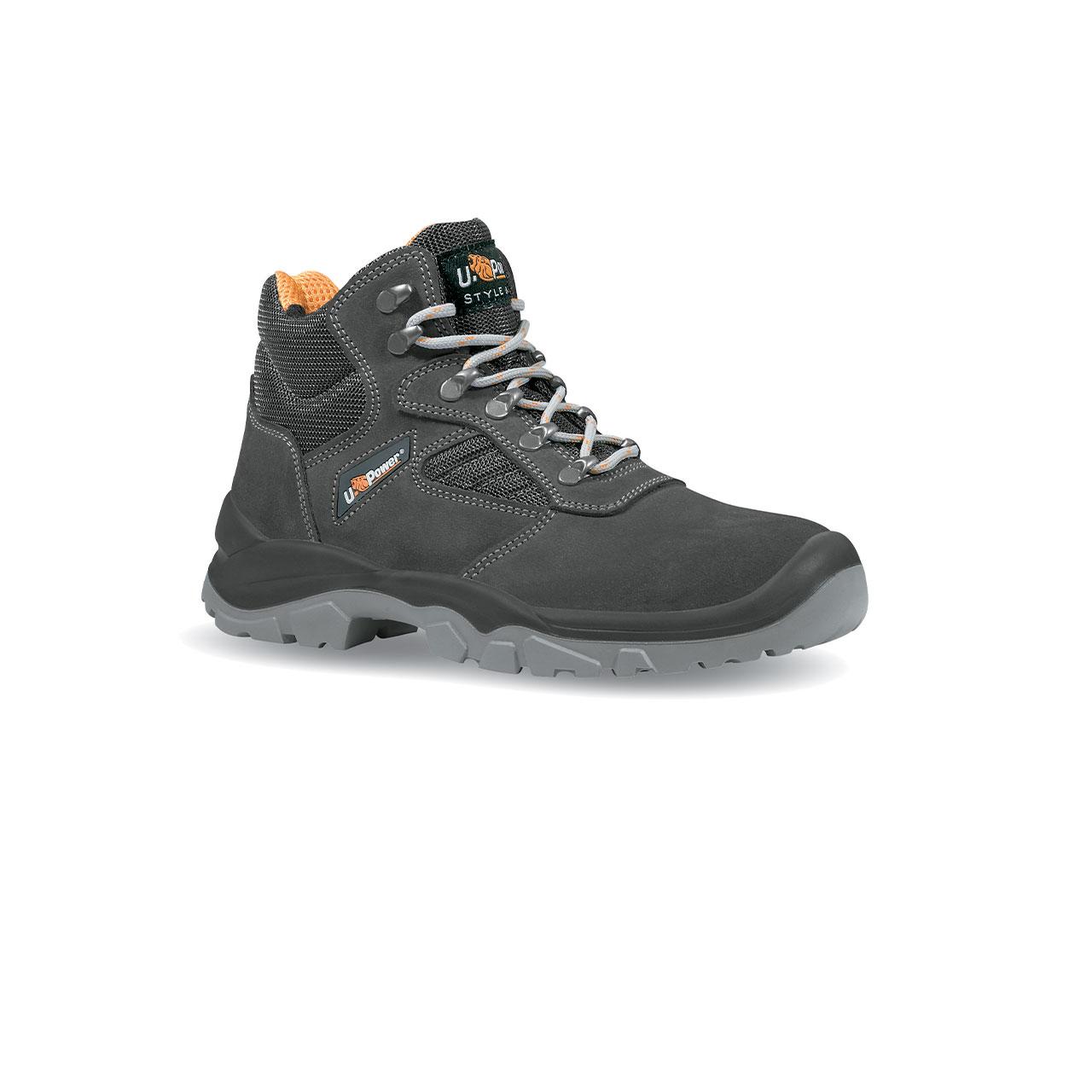 scarpa antinfortunistica upower modello real linea STYLE_JOB vista laterale