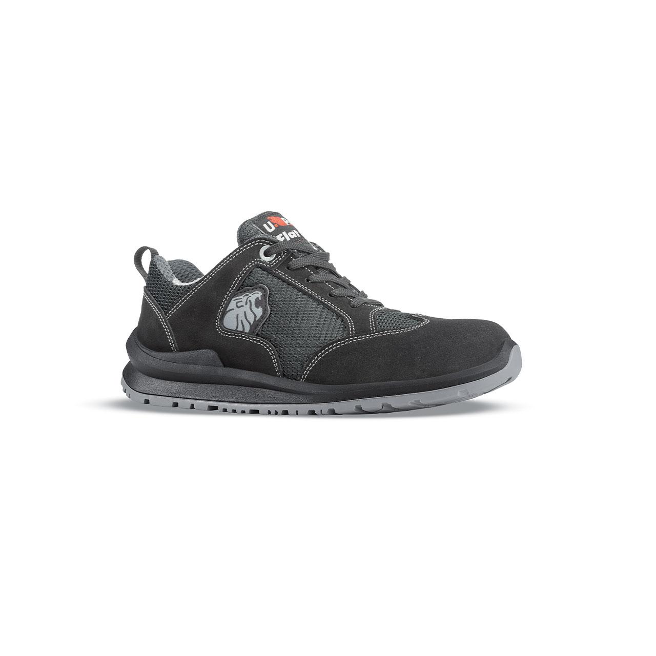 scarpa antinfortunistica upower modello robert linea flatout vista laterale