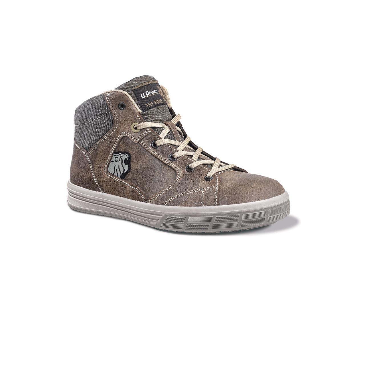 scarpa antinfortunistica upower modello safari linea theroar vista laterale