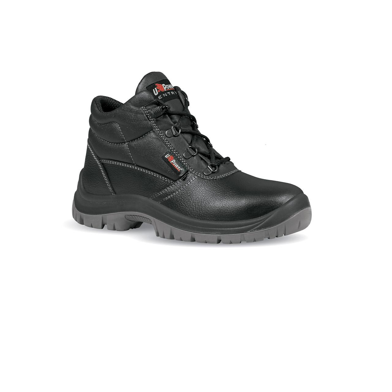 scarpa antinfortunistica upower modello safe linea safe vista laterale