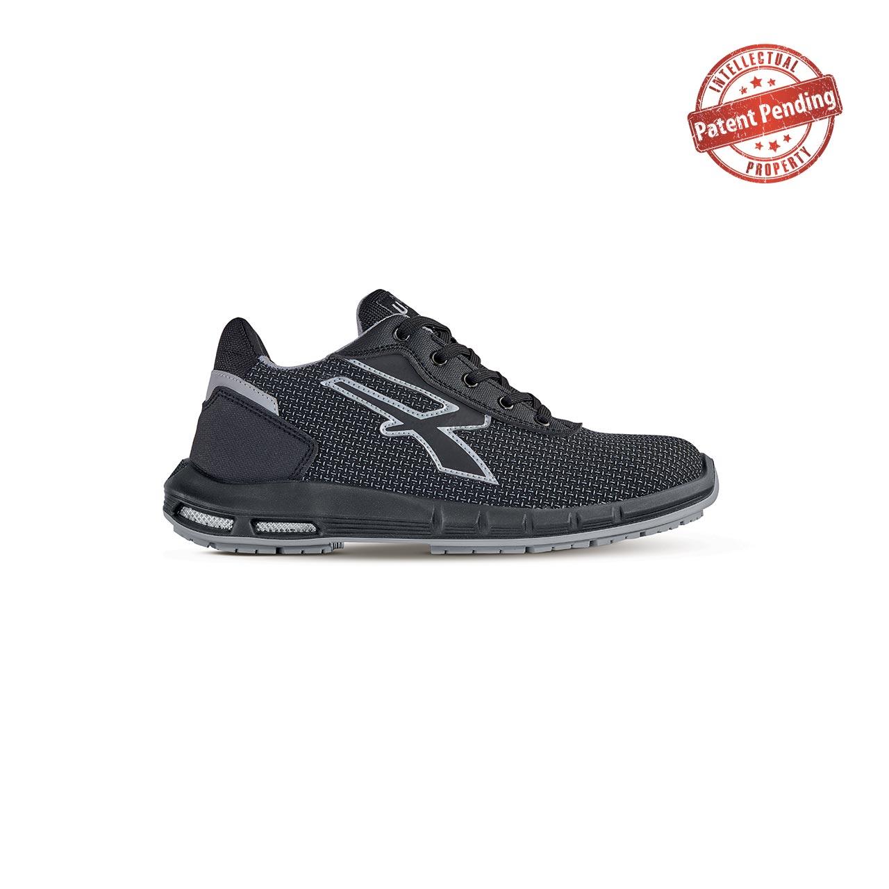 scarpa antinfortunistica upower modello scudo plus linea redup plus vista laterale