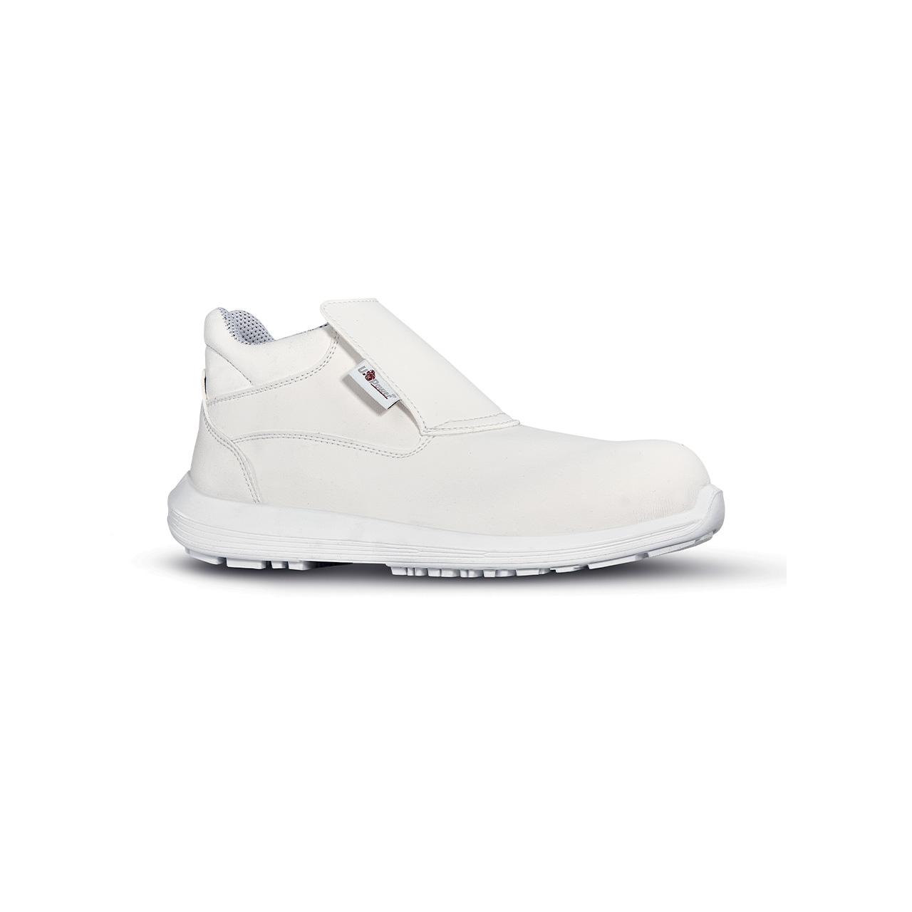 scarpa antinfortunistica upower modello shine linea black68_white vista laterale