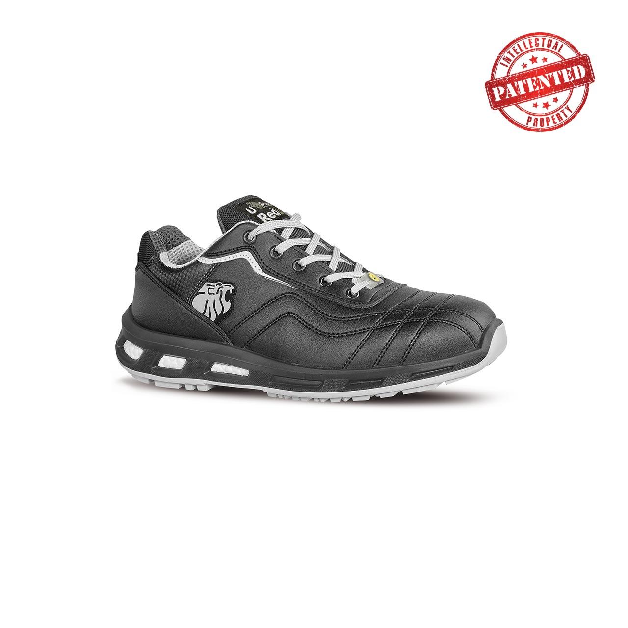 scarpa antinfortunistica upower modello show linea redlion vista laterale