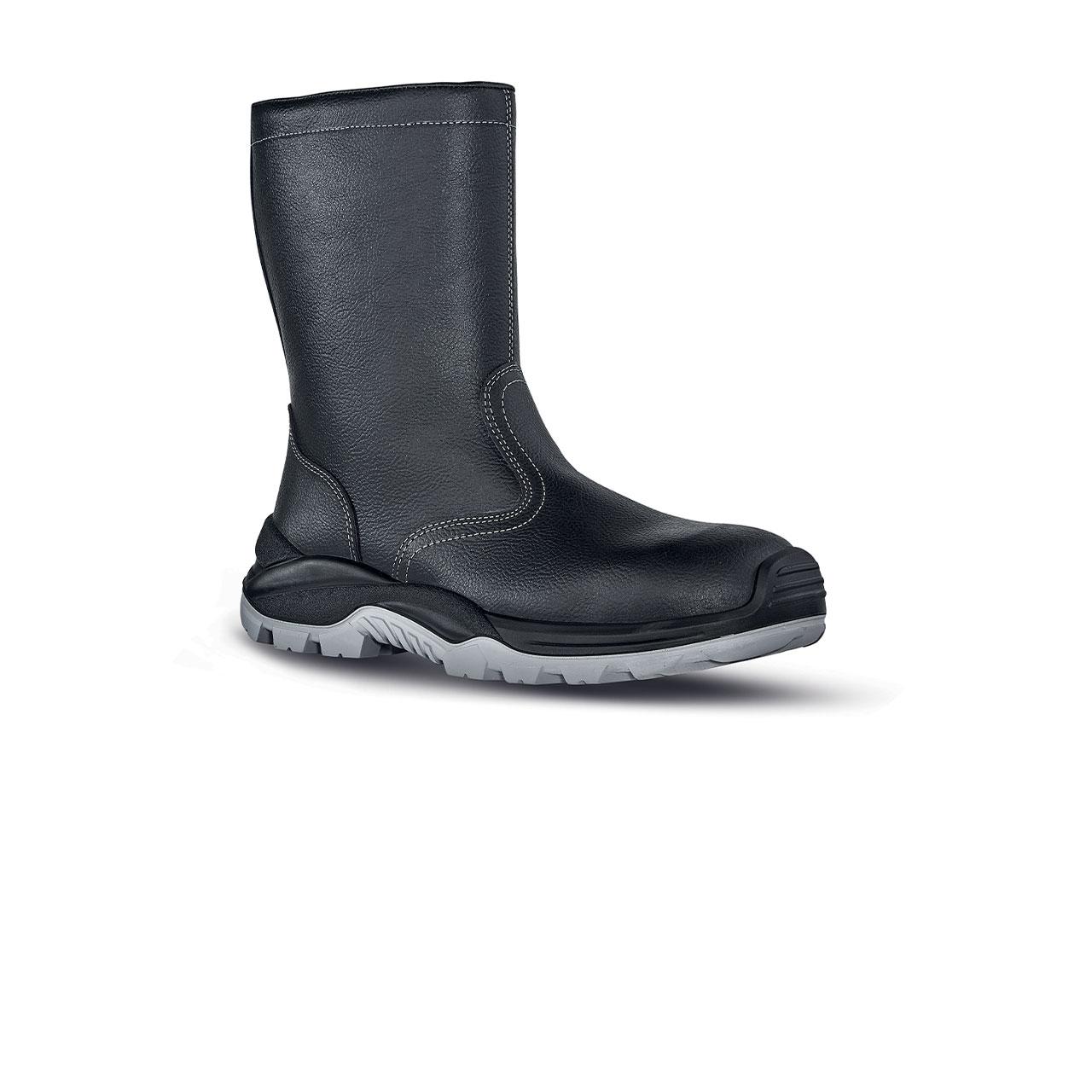 scarpa antinfortunistica upower modello siberian linea rock_roll vista laterale