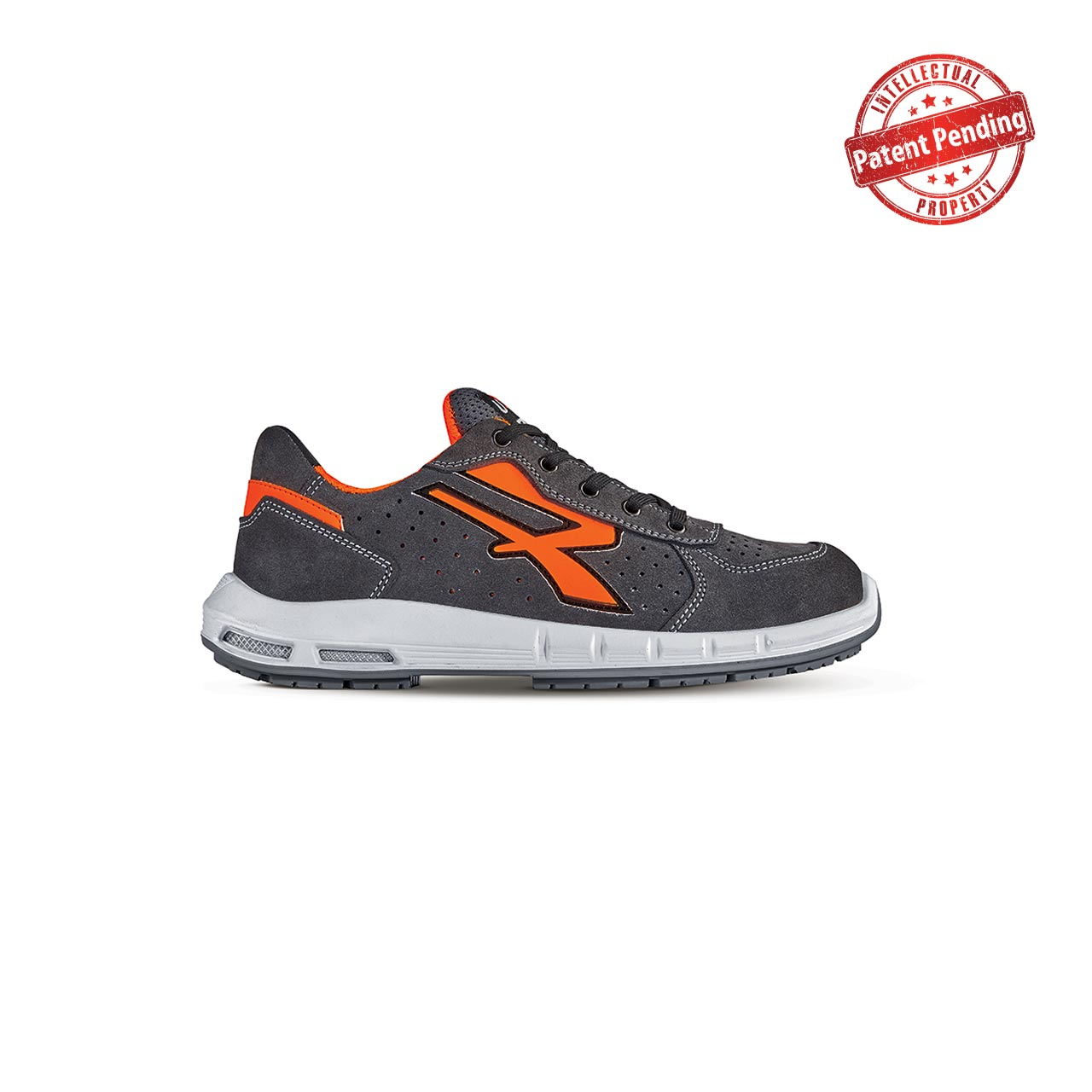 scarpa antinfortunistica upower modello sirio plus linea redup plus vista laterale