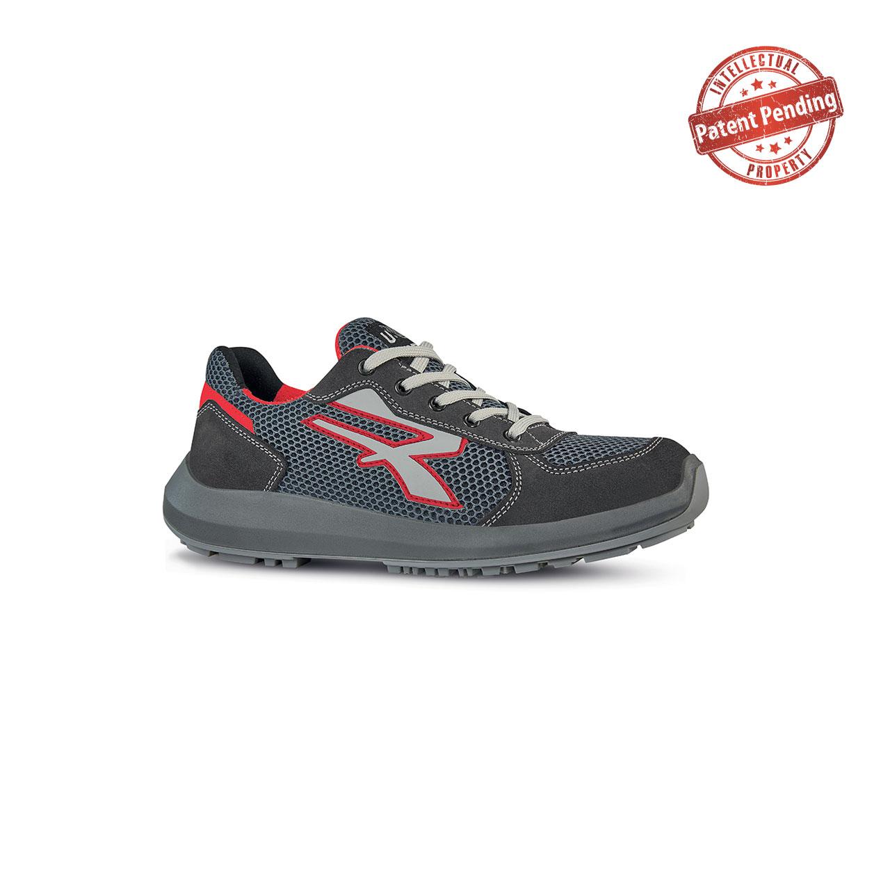 scarpa antinfortunistica upower modello skat linea redup vista laterale