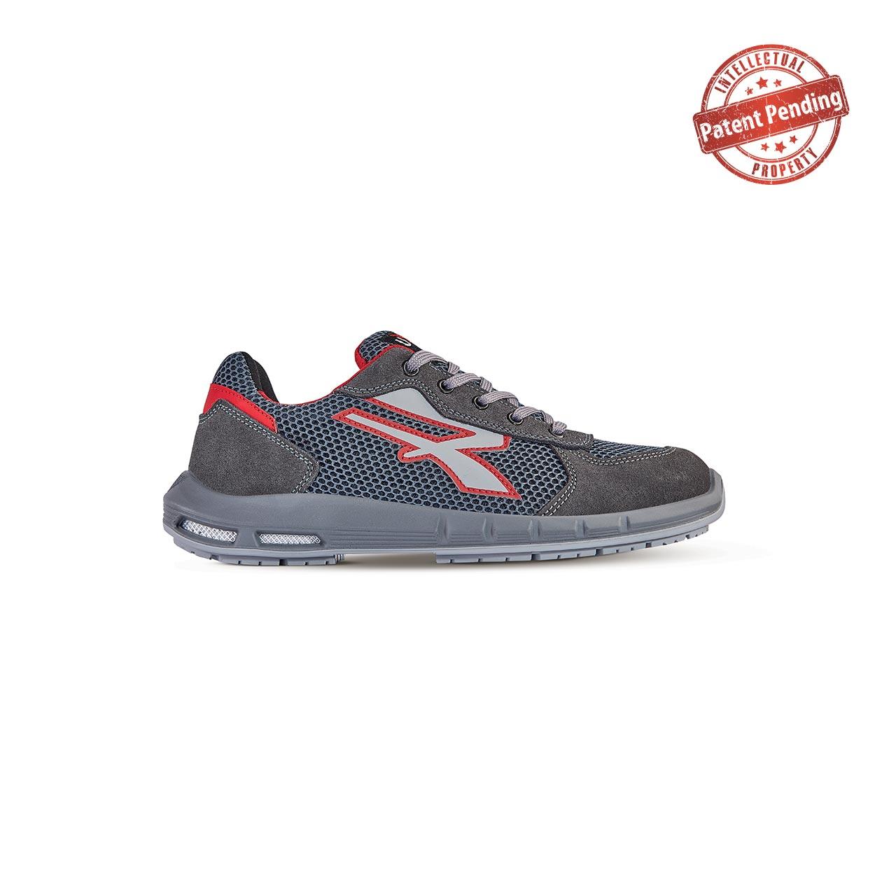 scarpa antinfortunistica upower modello skat plus linea redup plus vista laterale