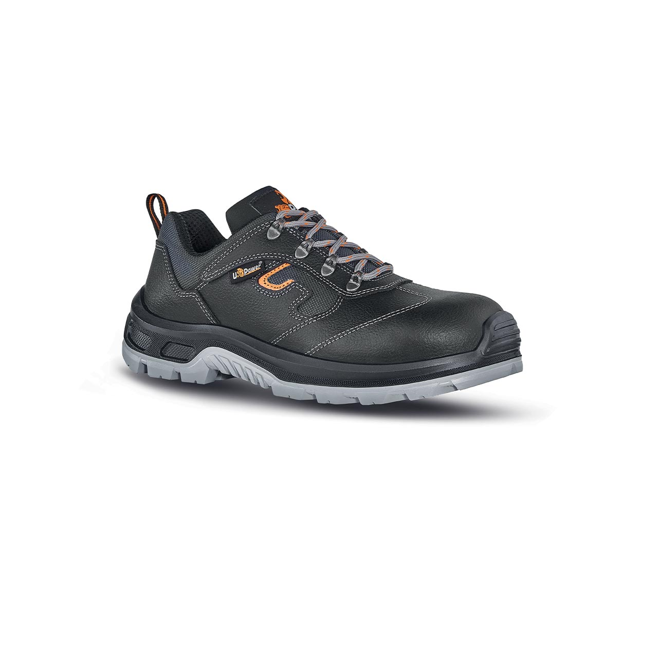 scarpa antinfortunistica upower modello solid linea stepone vista laterale