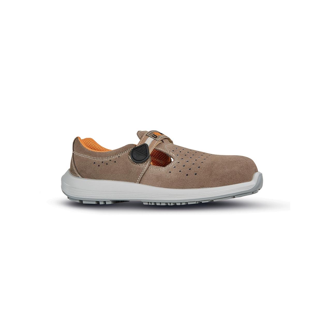 scarpa antinfortunistica upower modello song linea stepone vista laterale