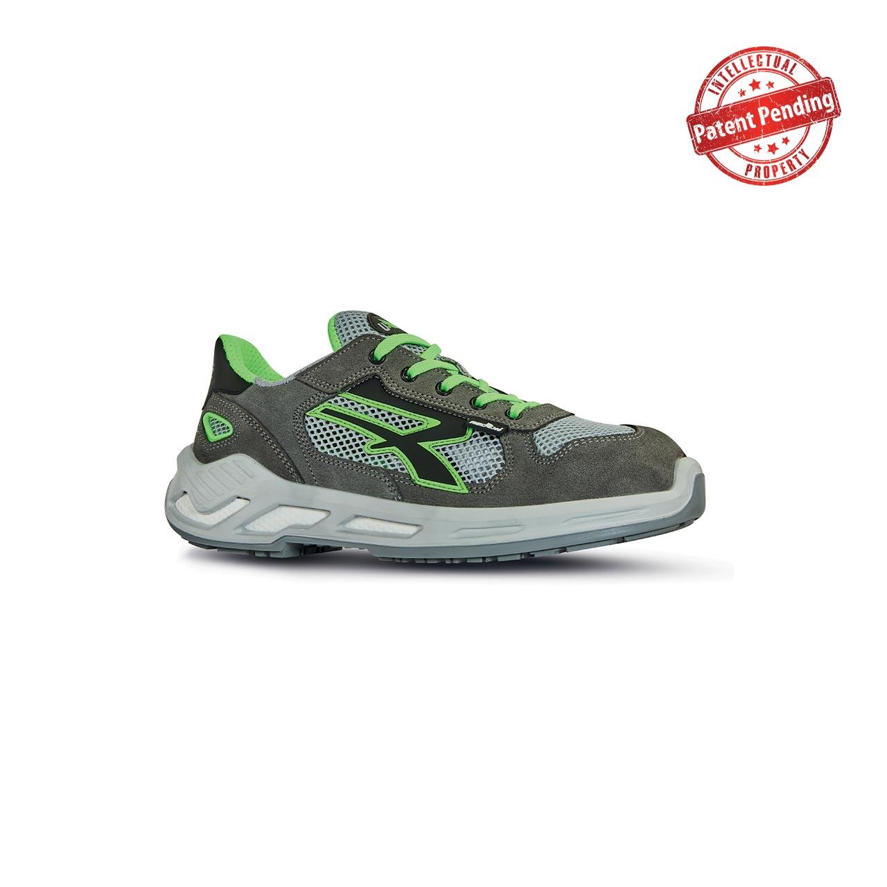 scarpa antinfortunistica upower modello specter linea red360 vista laterale