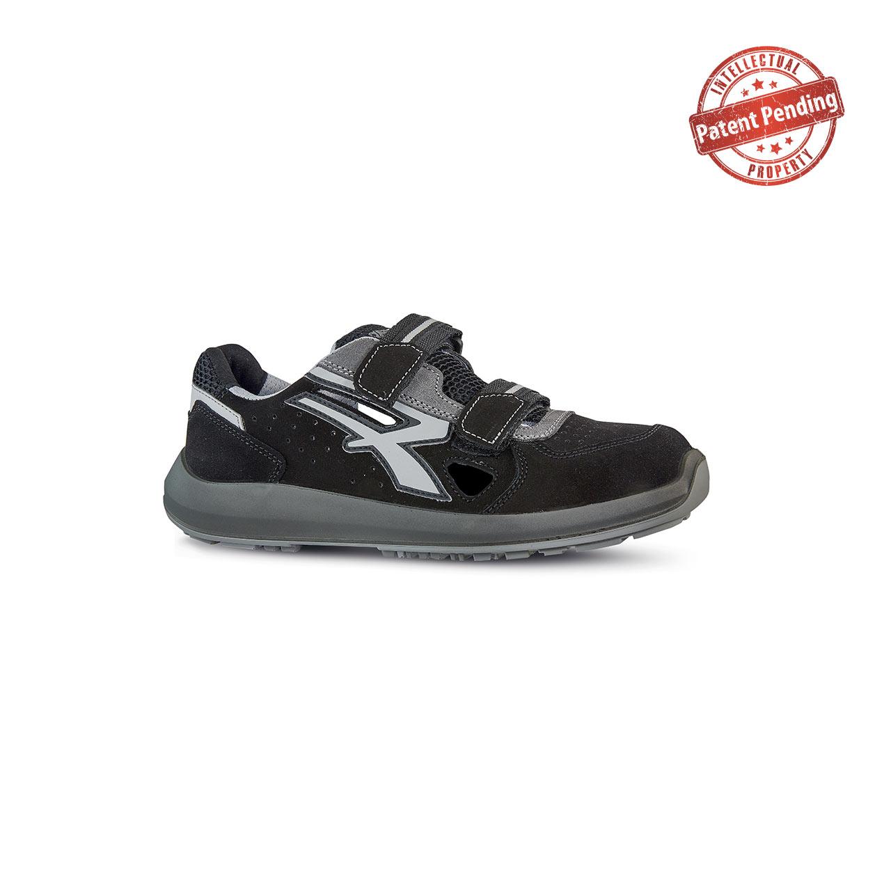 scarpa antinfortunistica upower modello strap linea redup vista laterale