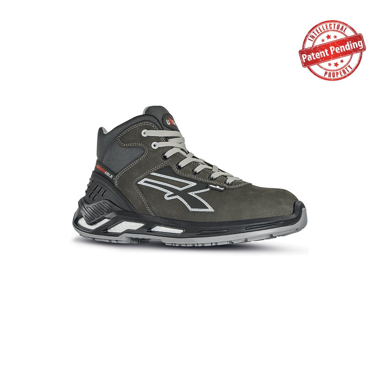 scarpa antinfortunistica upower modello strike linea red360 vista laterale