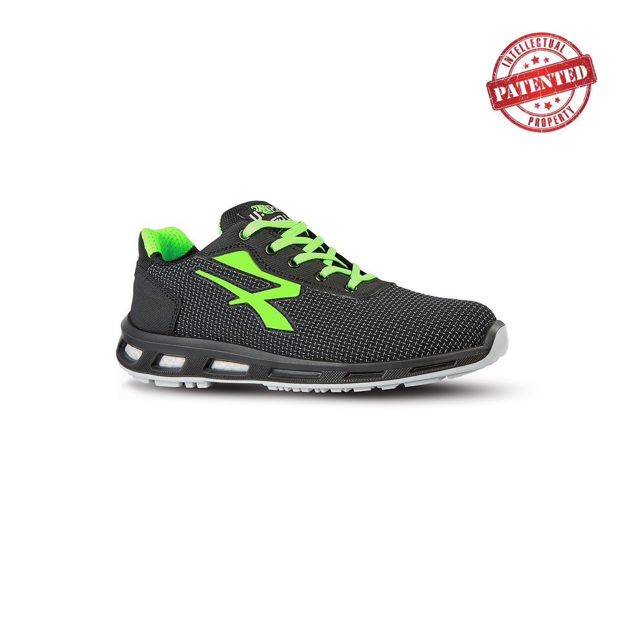 scarpa antinfortunistica upower modello strong linea redlion vista laterale