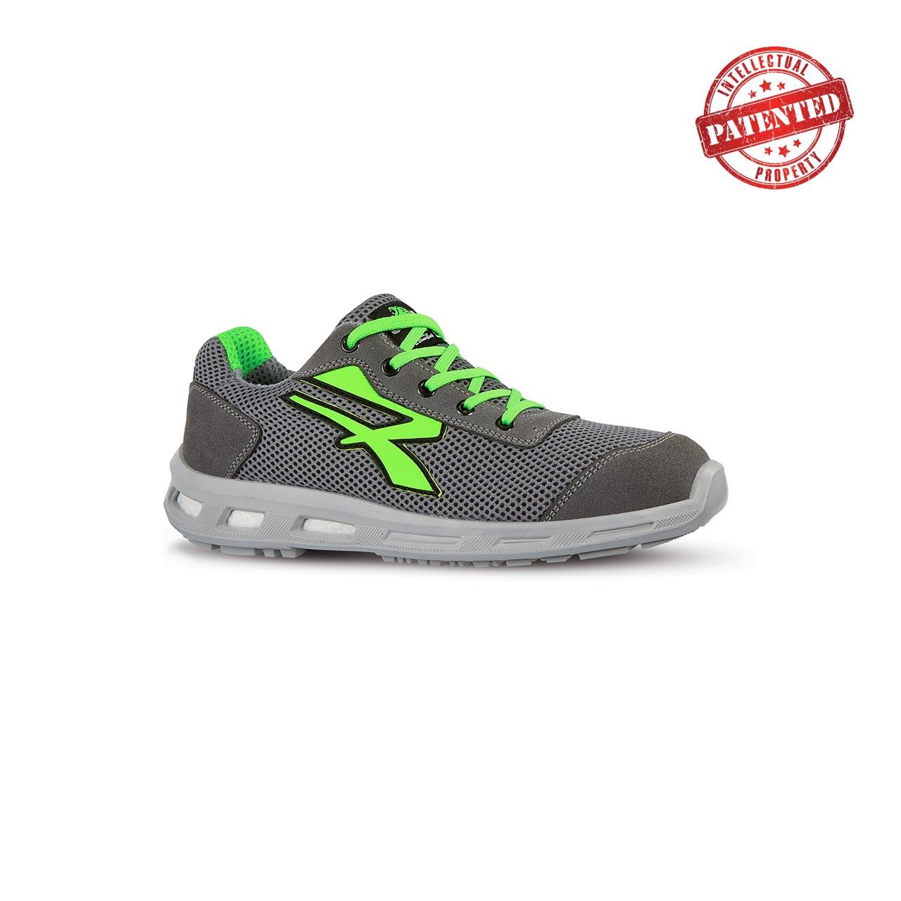 scarpa antinfortunistica upower modello summer linea redlion vista laterale