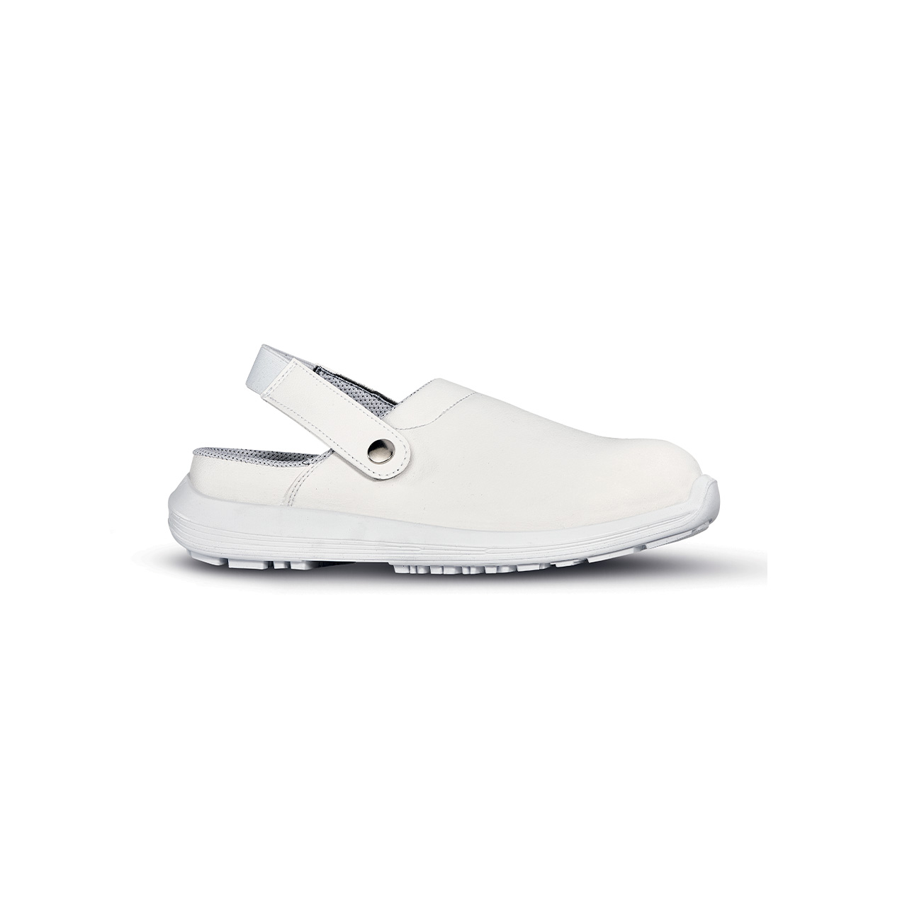 scarpa antinfortunistica upower modello surge linea black68_white vista laterale