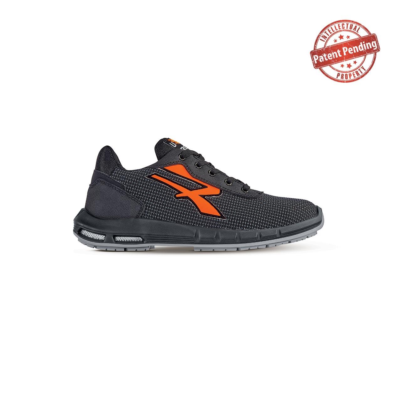 scarpa antinfortunistica upower modello taurus plus linea redup plus vista laterale