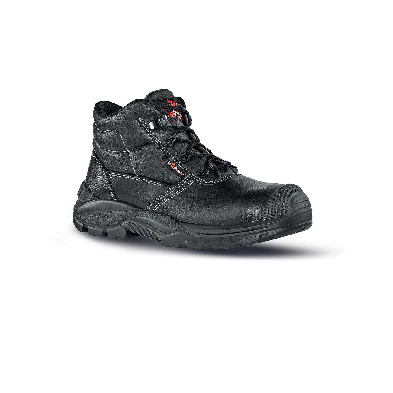 scarpa antinfortunistica upower modello texas linea rock_roll vista laterale