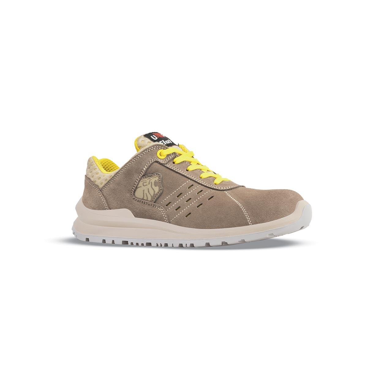 scarpa antinfortunistica upower modello tommy linea flatout vista laterale