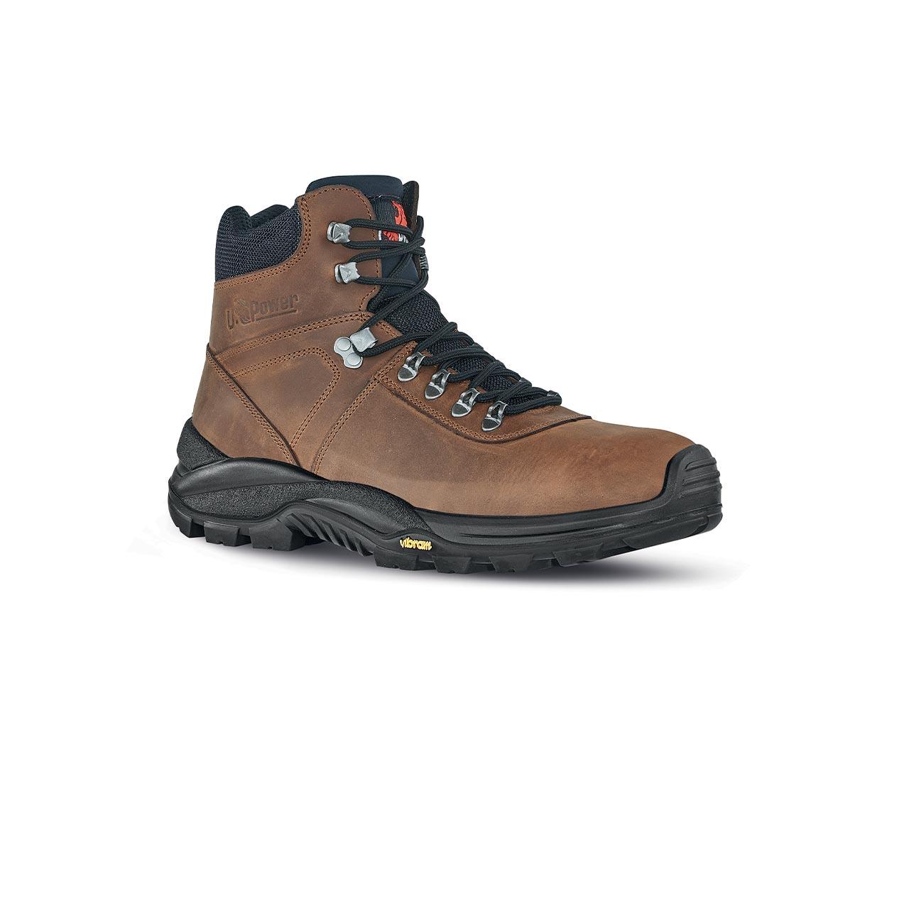 scarpa antinfortunistica upower modello trail linea conceptm vista laterale