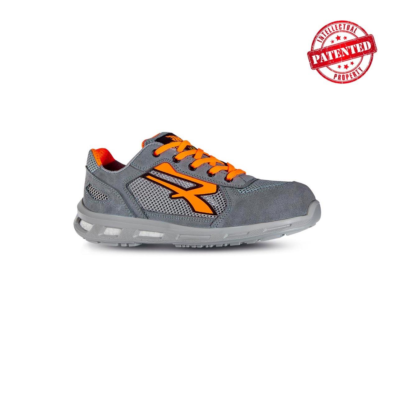 scarpa antinfortunistica upower modello ultra linea redlion vista laterale