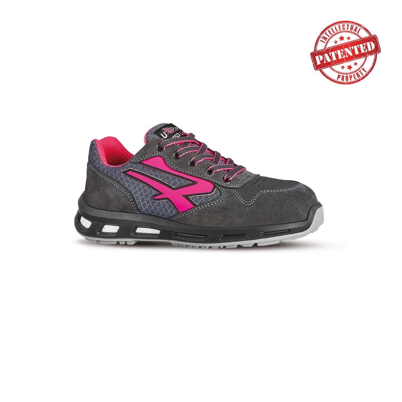 scarpa antinfortunistica upower modello verok linea redlion vista laterale