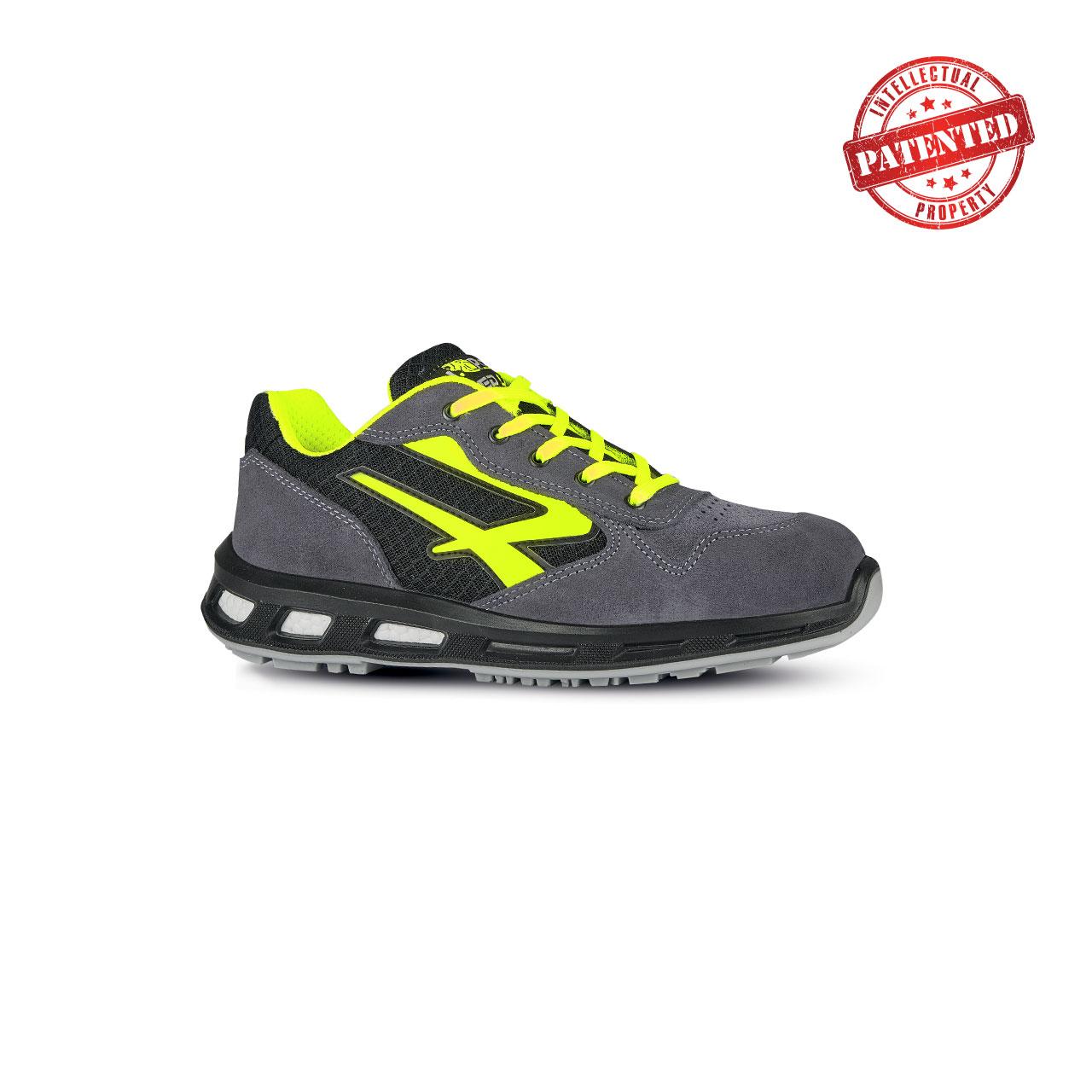 scarpa antinfortunistica upower modello yellow linea redlion vista laterale