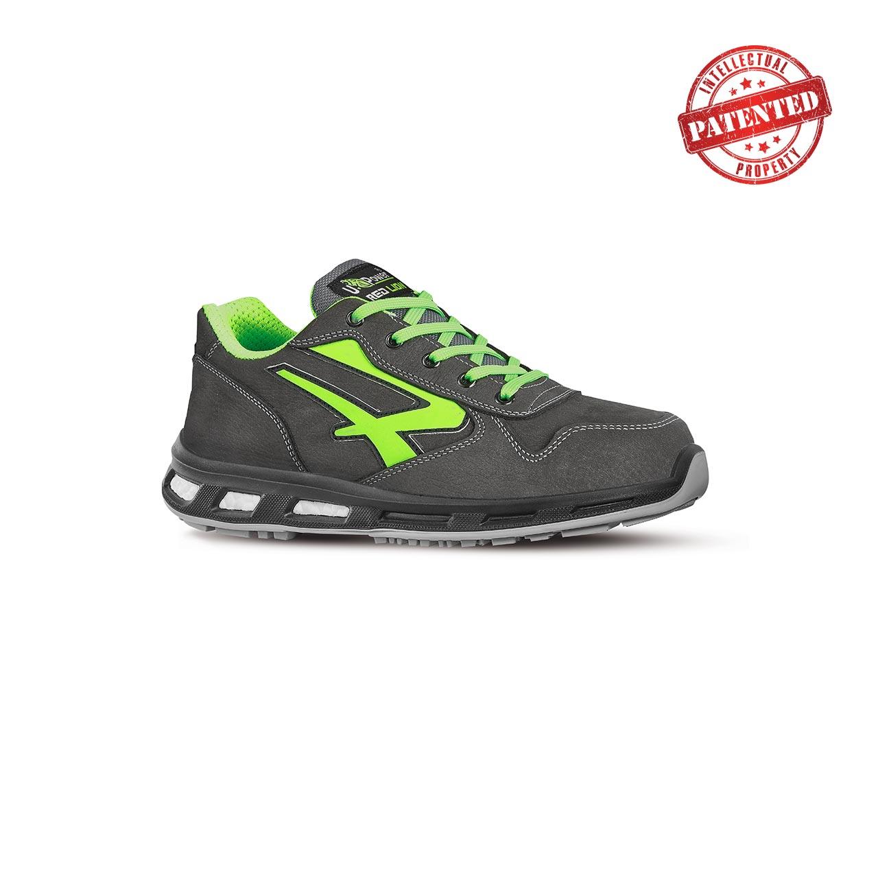 scarpa antinfortunistica upower modello yoda linea redlion vista laterale