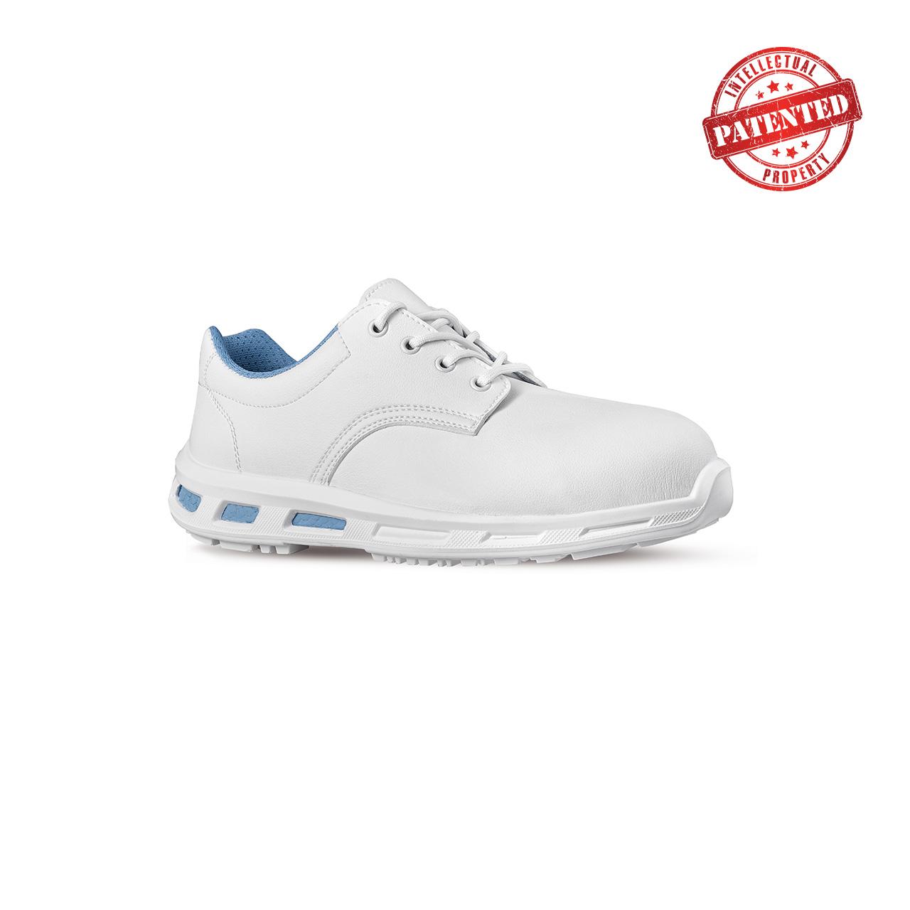 scarpa antinfortunistica upower modello zelda linea redlion vista laterale