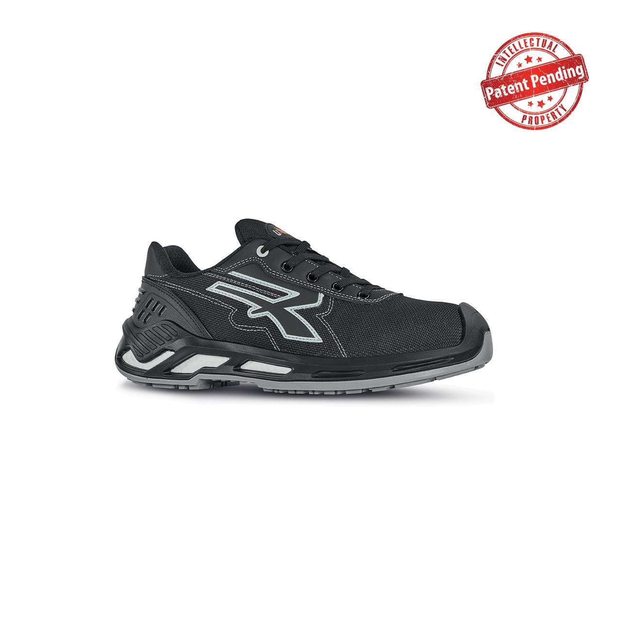 scarpa antinfortunistica upower modello zorbi linea red360 vista laterale