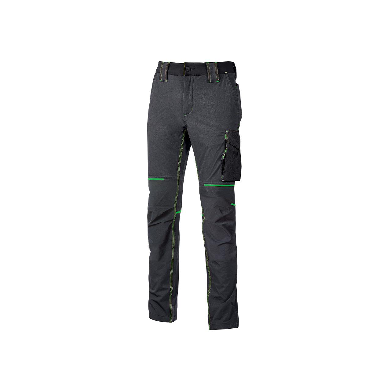 pantalone da lavoro upower modello world colore asphalt grey green prodotto